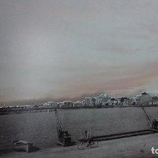 Fotografía antigua: CURIOSO MONTAJE FOTOGRAFICO DEL GRAO DE CASTELLÓN EN RELIEVE. Lote 197854181