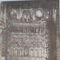 Fotografía antigua: FOTOGRAFÍA ORIGINAL MONASTERIO DE POBLET. TARRAGONA. HACIA 1930.. Lote 199191880