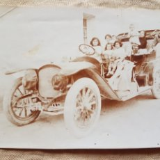 Fotografía antigua: ANTIGUA FOTO COCHE DE 1910 W. Lote 199195833