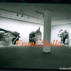 Fotografía antigua: FRANK STELLA - 1987 - PHOTO WERNER ZELLIEN - BERLIN. Lote 199309617