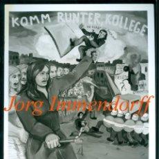 Fotografía antigua: JÖRG IMMENDORFF - KOMM RUNTER - 1974 - PHOTO HANS BIEZEN . Lote 199310040