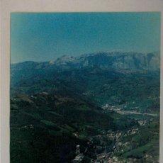 Fotografía antigua: ANTIGUA VISTA AEREA DE POZO MINERO. MINAS DE FIGAREDO. TURÓN. MIERES. FOTO FOAT. ASTURIAS.. Lote 200566025