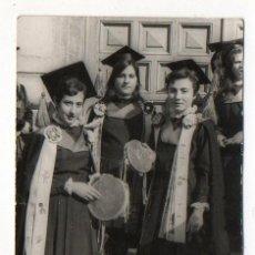 Fotografía antigua: TUNA FEMENINA CON PANDERETAS. AÑOS 60. Lote 201138401