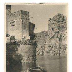Fotografía antigua: TOLEDO - CASA EN EL TAJO, 1930'S. FOTOGRAFÍA: OTTO WUNDERLICH (STUTTGART 1886 - MADRID 1975). Lote 201955381