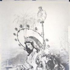 Fotografia antiga: SEVILLA DIVINA PASTORA CON BACULO NEGATIVO CRISTAL. Lote 203207447