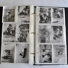 Fotografía antigua: GRAN ÁLBUM FAMILIAR. VIAJES. ESCENAS FAMILIARES. ARAGÓN, SALOU... AÑOS 60-70. EN BUEN ESTADO. Lote 203824305