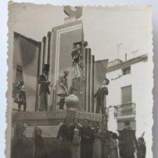Fotografía antigua: ALICANTE FOGUERES. Lote 203975658