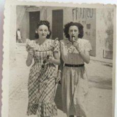 Fotografía antigua: CASTALLA ALICANTE 1948. Lote 204011280