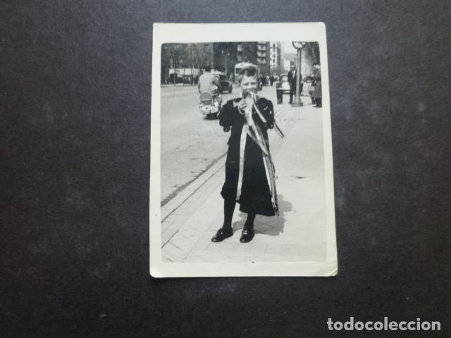 NIÑO TUNO TUNA ESTUDIANTINA FOTOGRAFIA 5 X 8,5 CMTS AÑOS 50 (Fotografía Antigua - Gelatinobromuro)
