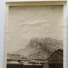 Fotografía antigua: ALICANTE CASTILLO Y BAÑO 1928. Lote 204692488