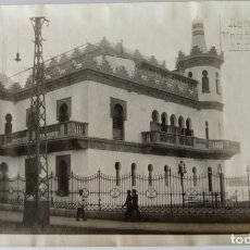 Fotografía antigua: ALICANTE REAL CLUB NAUTICO 1927. Lote 204692590