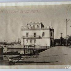 Fotografía antigua: ALICANTE REAL CLUB NAUTICO 1927. Lote 204692943