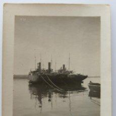 Fotografía antigua: ALICANTE PUERTO 1923. Lote 204693697