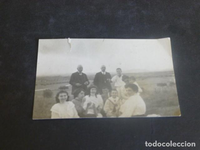 GUADALAJARA GRUPO FAMILIA RAMIREZ EN EL CAMPO AÑOS 20 FOTOGRAFIA 5 X 7,5 CMTS (Fotografía Antigua - Gelatinobromuro)
