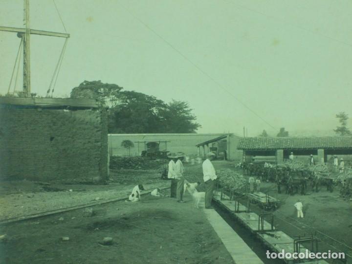 Fotografía antigua: MAGNIFICA ANTIGUA FOTOGRAFIA GRAN FORMATO-FOTO ISMAEL RODRIGEZ AVALOS PUEBLA MEXICO-INGENIO TILAPÁ - Foto 3 - 205060242