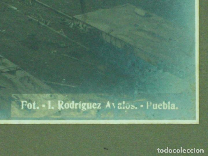 Fotografía antigua: MAGNIFICA ANTIGUA FOTOGRAFIA GRAN FORMATO-FOTO ISMAEL RODRIGEZ AVALOS PUEBLA MEXICO-INGENIO TILAPÁ - Foto 6 - 205060242