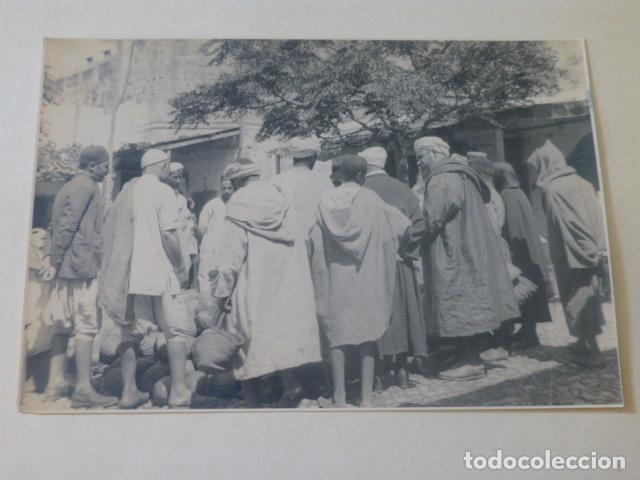 TETUAN 1934 FOTOGRAFIA POR VIAJERO ALEMAN 15,5 X 23,5 CMTS (Fotografía Antigua - Gelatinobromuro)
