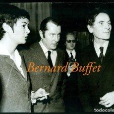 Fotografía antigua: BERNARD BUFFET - PIERRE CARDIN - FOTOGRAFIA 1962. Lote 205561686