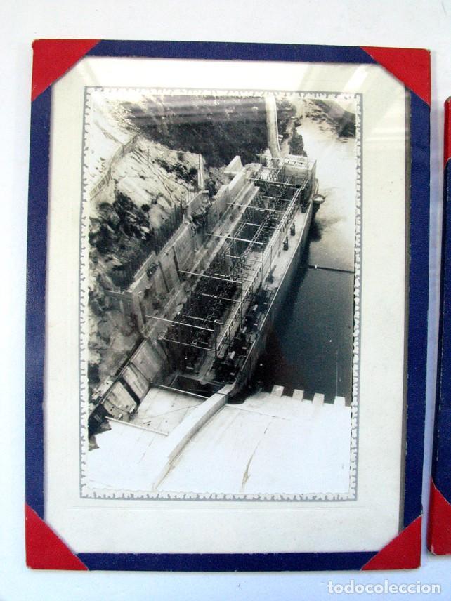 Fotografía antigua: DOS FOTOS DE LA ANTIGUA PRESA DEL SOTO DE LA BARCA. CANGAS DEL NARCEA. ASTURIAS - Foto 3 - 205827936