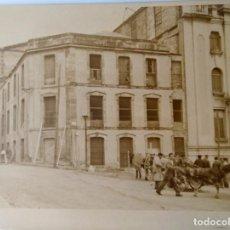 Fotografía antigua: ALCOY CONSTRUCCION FABRICA PAPELERAS REUNIDAS. Lote 206207973