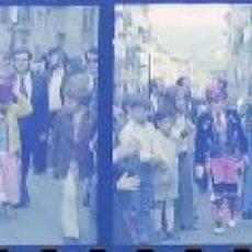 Fotografía antigua: ALCOY FIESTAS LOTE 17 NEGATIVOS NEGATIVOS PASO UNIVERSAL FILA JUDIOS Y GLORIERO INFANTIL. Lote 210315328