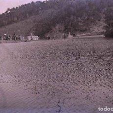 Fotografía antigua: VALLVIDRERA. PANTANO. FOTOGRAFÍA FAMILIAR. C. 1905. Lote 210419041