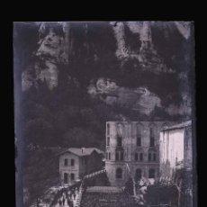 Fotografía antigua: MONTSERRAT. PRECIOSA VISTA DE ANTES DE LAS REFORMAS. C.1905. Lote 210419426