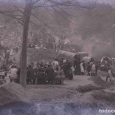 Fotografía antigua: BARCELONA. LAS PLANES. GRAN GENTÍO. C. 1905. Lote 210419855