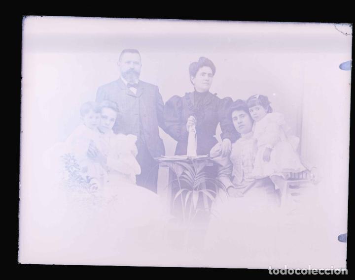 Fotografía antigua: FOTO FAMILIAR. Padres e hijos. Cataluña. c. 1905 - Foto 3 - 210457508