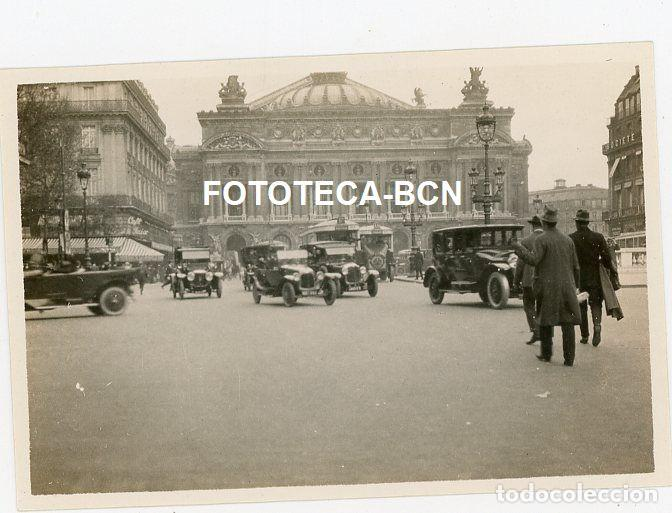 LOTE 14 FOTOGRAFIAS FRANCIA PARIS OPERA TROCADERO ARCO TRIUNFO TORRE EIFFEL LOUVRE AÑO 1922 (Fotografía Antigua - Gelatinobromuro)