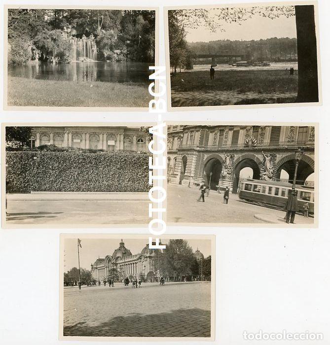 Fotografía antigua: LOTE 14 FOTOGRAFIAS FRANCIA PARIS OPERA TROCADERO ARCO TRIUNFO TORRE EIFFEL LOUVRE AÑO 1922 - Foto 3 - 210566602