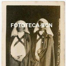 Fotografía antigua: FOTO ORIGINAL ENFERMERAS CRUZ ROJA CATALUNYA AÑOS 20/30. Lote 210840609