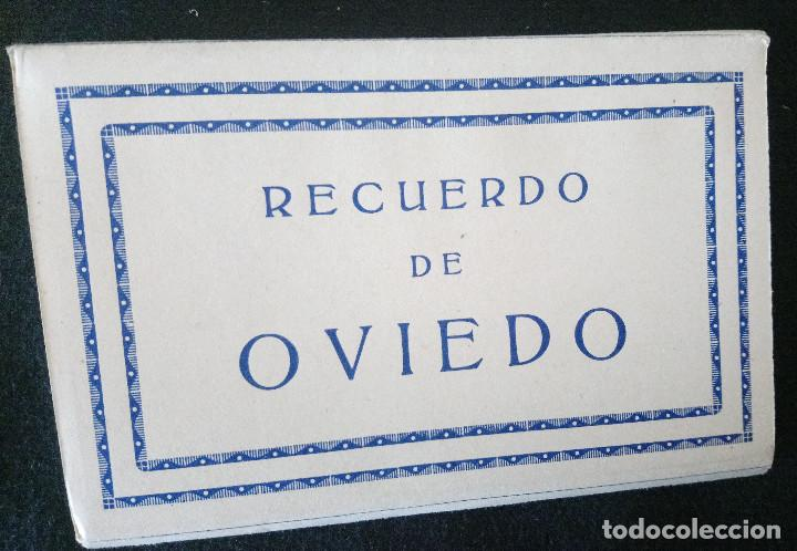OVIEDO, FOTOGRAFIAS, 10 VISTAS DE EDICIONES ARRIBAS DE ZARAGOZA. (Fotografía Antigua - Gelatinobromuro)