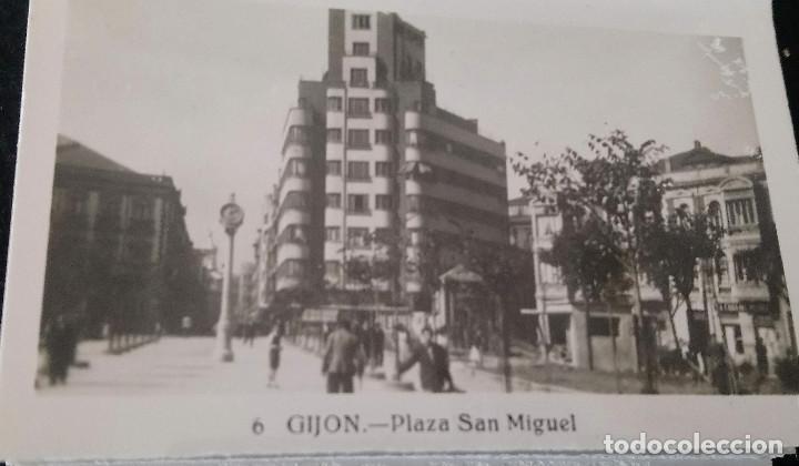 Fotografía antigua: Gijon 16 fotos gelatinobromuro de L. Roisin Fotografo de Barcelona. - Foto 3 - 211622917