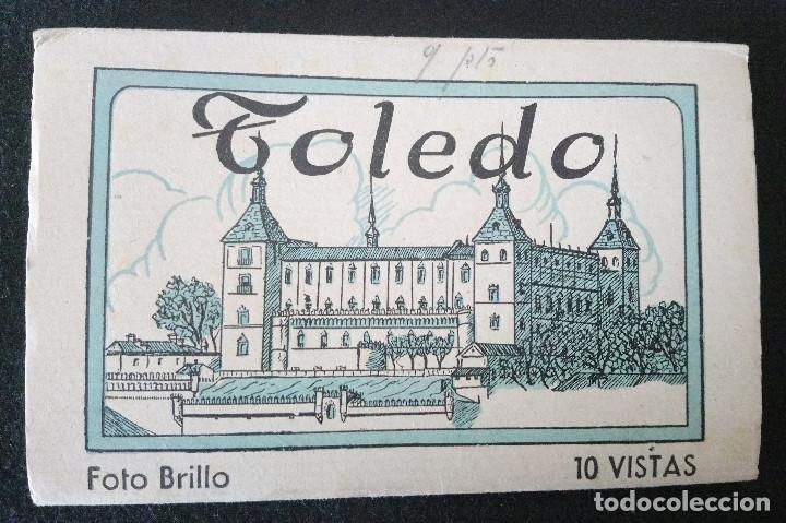 TOLEDO 15 VISTAS FOTOS GELATINOBROMURO BRILLO DE HELIOTIPIA ARTÍSTICA ESPAÑOLA DE MADRID. 1ª. SERIE (Fotografía Antigua - Gelatinobromuro)