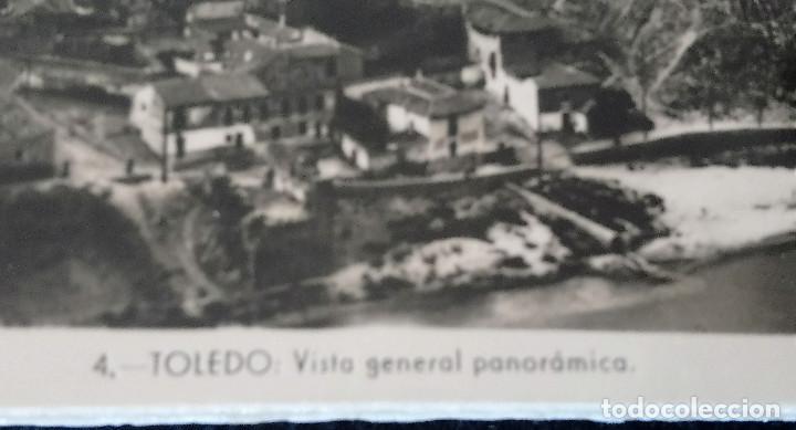 Fotografía antigua: Toledo 15 vistas fotos gelatinobromuro Brillo de Heliotipia Artística Española de Madrid. 1ª. Serie - Foto 3 - 211624835