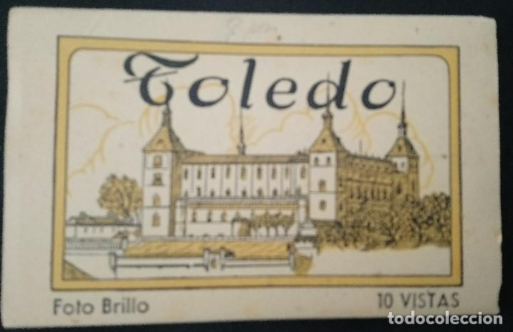 TOLEDO 15 VISTAS FOTO BRILLO DE HELIOTIPIA ARTÍSTICA ESPAÑOLA DE MADRID. 2ª. SERIE (Fotografía Antigua - Gelatinobromuro)