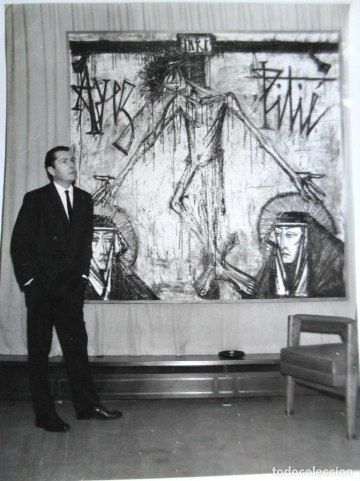 BERNARD BUFFET - PINTOR - 1962 (Fotografía Antigua - Gelatinobromuro)