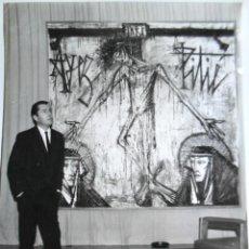 Fotografía antigua: BERNARD BUFFET - PINTOR - 1962. Lote 211642820
