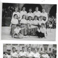Fotografía antigua: NEGATIUS COLLES SARDANISTES TARRAGONA - LOT. 2 - 2 NEGATIUS. Lote 211999172