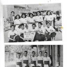 Fotografía antigua: NEGATIUS COLLES SARDANISTES TARRAGONA - LOT. 1 - 2 NEGATIUS. Lote 211999327