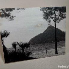 Fotografía antigua: ARTISTICA PAISAJE DE FORMENTOR -MALLORCA JOAN BIOSCA MESTRE-AÑOS 50-AGRUPACIO FOTOGRAFICA DE REUS. Lote 211999386