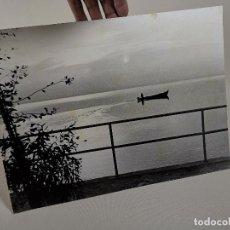Fotografía antigua: ARTISTICA -PAISAJE ALBUFERA--JOAN BIOSCA MESTRE-AÑOS 50-AGRUPACIO FOTOGRAFICA DE REUS. Lote 212000145