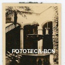 Fotografía antigua: LOTE 5 FOTOS ORIGIINALES BARCELONA PALAU DE LA GENERALITAT AÑOS 20/30. Lote 212087122