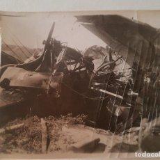 Fotografía antigua: ACCIDENTE AVIACIÓN MARRUECOS ESPAÑOL FOTOGRAFIA AÑOS 40. Lote 212247802