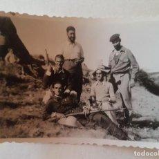 Fotografía antigua: GRUPO MILICIANOS CON FUSILES GUERRA CIVIL FOTOGRAFIA AÑOS 30. Lote 212255337