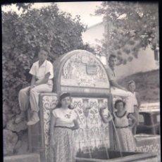 Fotografia antiga: MACASTRE FONT DEL BOLOT NEGATIVO CELULOIDE 6 X 9 CM. Lote 212970522