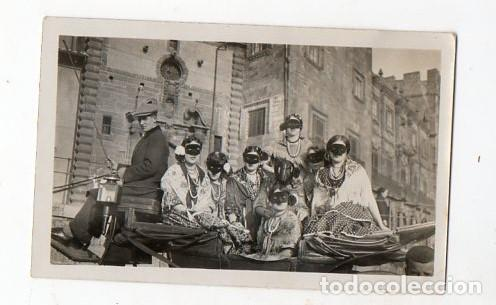GIJÓN. DOMINGO DE CARNAVAL. 19 DE FEBRERO DE 1928. CARROZA. ASTURIAS (Fotografía Antigua - Gelatinobromuro)