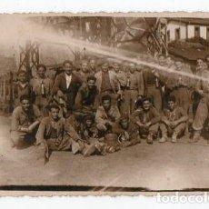 Fotografía antigua: MINEROS ASTURIANOS. MINA. LANGREO. 1950. ASTURIAS. Lote 214623718