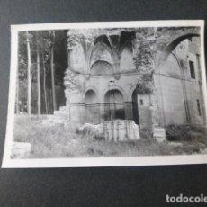 Fotografia antica: CARRION DE LOS CONDES PALENCIA ANTIGUA FOTOGRAFIA 7,5 X 10,5 CMTS. Lote 216273658